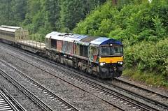 66718 (stavioni) Tags: gbrf gb railfreight freight train diesel rail railway locomotive class66 shed