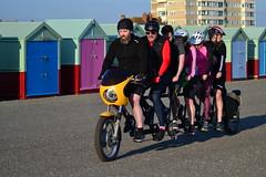 DSC_1996 (Gunit77) Tags: tandem bike hove seafroont friends beach huts
