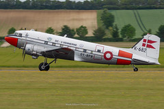 C-47A Gamle Dame OY-BPB (Mark_Aviation) Tags: c47a gamle dame oybpb c47 royal norwegian air force usaaf det norske luftfartselskab airlines sas danish dc3 dakotas dakota dak daks over duxford normandy aircraft iwm egsu c53
