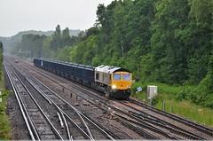 66717 (stavioni) Tags: gbrf gb railfreight freight train diesel rail railway locomotive class66 shed