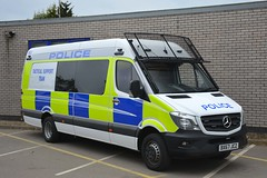 BX67 JCZ (S11 AUN) Tags: leicestershire police mercedes sprinter public order vehicle psu support unit pov tsg tacticalsupportgroup carrier 999 emergency bx67jcz