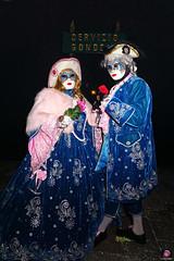 QUINTESSENZA VENEZIANA 2019 853 (aittouarsalain) Tags: venise venezia carnevale carnaval masque costume chapeau couple gondola gondole