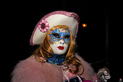 QUINTESSENZA VENEZIANA 2019 854 (aittouarsalain) Tags: venise venezia carnevale carnaval masque costume portrait chapeau regard nuit