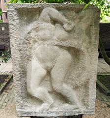 "Sir Jacob Epstein ""Stone relief"" Chelsea Embankment (Russtafa) Tags: epstein sir jacob scu sculpture sculptor stone relief"