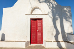 Sifnos Country Church 2 (josullivan.59) Tags: 2019 agean artistic europe greece greek june orthodox sifnos architecture church country countryside cyclades evening goldenhour historical island islands light lightanddark minimalism old red shadows texture travel wallpaper white outside outdoor shadow summer day clear nicelight