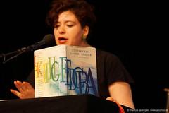 Nora Gomringer: Lesung (jazzfoto.at) Tags: sonyalpha sonyalpha77ii sonyalpha77 sonya77m2 sony literaturfest literaturfestsalzburg