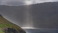 visit Faroe Islands: Vidareidi - the  northernmost point you can reach by car (Stefan Giese) Tags: nikon d750 färöer faroeislands faroe vidareidi sunbeam light