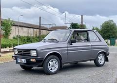 Peugeot 104 Style Z 1987: et, maintenant, avec les jantes Amil d'époque. #Youngtimer #Peugeot104 (SylvainBouard) Tags: youngtimer peugeot104