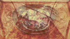 Ai Weiwei 45 CocaChaos 03 (wos---art) Tags: bildschichten cocachaos cola scherben schaukästen krug container actionpainting teller dekoration bemalung konsequenzen zwangsläufig zukunftsaussicht zerstörung auflösung trümmer rest überbleibsel