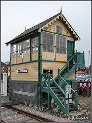 Sheringham East signal Box Norfolk (Alan B Thompson) Tags: 2019 june lumix fz82 picassa