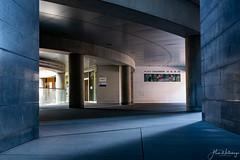 chauderon (alain.winterberger) Tags: lausanne galfetti tour rue urbain urban beton concrete passage suisse switzerland schweiz svizerra mur