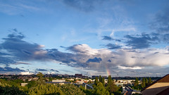 The sky is wonderful tonigh (olivier.amiaud) Tags: ciel sky nuage soir arcenciel bleu blanc cloud 1750mm nikon tamron orage orageux cumulus cirrus
