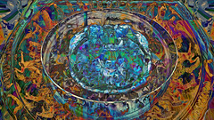Ai Weiwei 45 CocaChaos 14 (wos---art) Tags: bildschichten cocachaos cola scherben schaukästen krug container actionpainting teller dekoration bemalung konsequenzen zwangsläufig zukunftsaussicht zerstörung auflösung trümmer rest überbleibsel