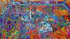 Ai Weiwei 45 CocaChaos 15 (wos---art) Tags: bildschichten cocachaos cola scherben schaukästen krug container actionpainting teller dekoration bemalung konsequenzen zwangsläufig zukunftsaussicht zerstörung auflösung trümmer rest überbleibsel