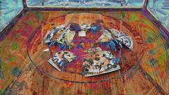 Ai Weiwei 45 CocaChaos 08 (wos---art) Tags: bildschichten cocachaos cola scherben schaukästen krug container actionpainting teller dekoration bemalung konsequenzen zwangsläufig zukunftsaussicht zerstörung auflösung trümmer rest überbleibsel