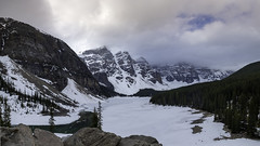 Moraine Lake (DazaT) Tags: morainelake banffnationalpark lakelouise alberta canada notyetdefrosted