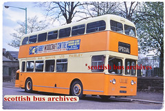 GRAHAM'S OF PAISLEY L1 XVA444 (SCOTTISH BUS ARCHIVES) Tags: chieftainofhamilton 77 leylandatlantean metrocammell mcw centralsmt hr1 grahamsofpaisley l1 xva444