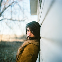 Riley (darylovejr) Tags: kodak film ektar mediumformat hasselblad 500cm 6x6 portrait girl fortcollins
