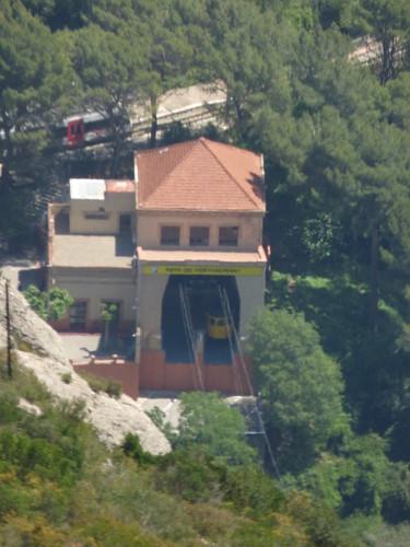 Aeri de Montserrat - cable car at Montserrat