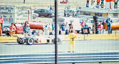 Vukovich in the pits (brooklandsspeedway) Tags: indycar trenton fairgrounds newjersey usac