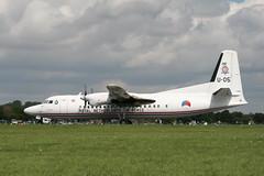 Fokker 50 RNLAF (Gerry Rudman) Tags: fokker f50 rnlaf u05 riat raf fairford