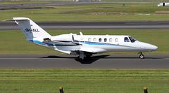 9H-ALL (PrestwickAirportPhotography) Tags: egpk prestwick airport cessena citation 525 9hall