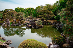Nijō Castle Gardens (hapePHOTOGRAPHIX) Tags: 392jpn asia asien burgnijō castillodenijō drausen fujixe3 gewaesser gewässer honshu honshū japan japón kioto kontrastreich kyoto kyotoprefecture kyōto landschaft natur nijōcastle ninomarugarden prefecturadekioto präfekturkyōto teich wasser dsplyys hapephotographix landscape pond water 二条城 京都市 京都府 本州 kyōtoshi kyōtofu