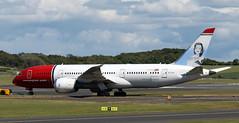 LN-LNA (PrestwickAirportPhotography) Tags: egpk prestwick airport norweigan boeing 787 b787 lnlna