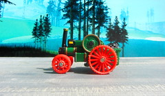 Thomas The Tank Engine And Friends Trevor The Traction Engine Die-cast Model By ERTL Incorporated Iowa Dyersville USA 1990 :  Diorama GTA San Andreas Game Scenery - 8 Of 10 (Kelvin64) Tags: thomas the tank engine and friends trevor traction diecast model by ertl incorporated iowa dyersville usa 1990 diorama gta san andreas game scenery