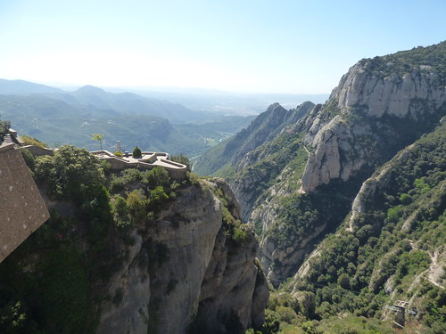 Aeri de Montserrat - cable car at Montserrat - Stairway to Heaven