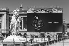 Saint Laurent de Paris. Paris, juin 2019 (Bernard Pichon) Tags: paris france bpi760 concorde tuileries fr75 tableau couture poster travaux chantier hdr