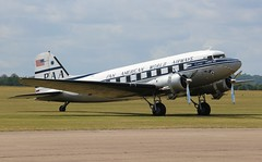 NC33611 Douglas DC-3C (R.K.C. Photography) Tags: nc33611 n33611 douglas dc3 dc3c panamhistoricfoundation clippertabithamay classic american propliner airliner aviation dakota ddaysquadron dday75 daksoverduxford daksovernormandy iwm cambridgeshire duxford england unitedkingdom uk canoneos100d