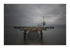 95 seconds at the old military pier (frattonparker) Tags: afsnikkor28300mmf3556gedvr btonner isleofwight lightroom6 longexposure ndfilter nikond810 raw solent frattonparker nisi 11stop