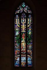Das Israel–Fenster im Ulmer Münster (wb.fotografie) Tags: ulm ulmermünster kirche kirchenfenster deutschland badenwürttemberg israelfenster jüdischegemeinde