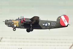 B-24J at Moffett Field 05-22-2019 (1) (Ian E. Abbott) Tags: consolidated b24j b24h b24 liberator usaaf 4444052 raf liberatorgrvi kh191 iaf t18 n224j worldwarii wwii collingsfoundation witchcraft 4252534 warbird moffettfederalairfield moffettfield knuq nuq
