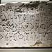 Fragmento de sillar con inscripción