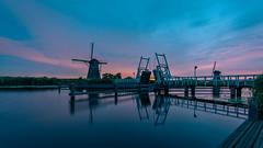 Kinderdijk (andreasmally) Tags: mills kinderdijk netherlands morning water wasser molen