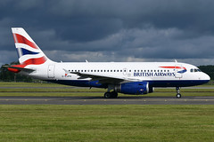 G-EUPH British Airways Airbus A319-131 at Glasgow International Airport on 9 June 2019 (Zone 49 Photography) Tags: aircraft airliner aeroplane june 2019 glasgow scotland egpf gla abbotsinch airport ba baw british airways airbus a319 319 100131 geuph