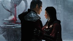 Kindred Judgment (Jillian-613) Tags: skyrim tes games screenshot elves elf altmer serana vampire