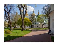 St. Sophia of Kyiv (Alexandr Voievodin) Tags: ukraine kyiv church architecture landscape olympusomdem10markii