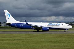 YR-BMK Blue Air Boeing 737-82R(WL) at Glasgow International Airport on 9 June 2019 (Zone 49 Photography) Tags: aircraft airliner aeroplane june 2019 glasgow scotland egpf gla abbotsinch airport 0b bms blue air boeing 737 738 800 82r wl yrbmk