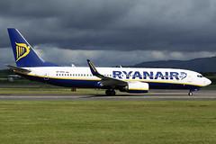 SP-RSA Ryanair Sun Boeing 737-8AS(WL) at Glasgow International Airport on 9 June 2019 (Zone 49 Photography) Tags: aircraft airliner aeroplane june 2019 glasgow scotland egpf gla abbotsinch airport fr ryr ryanai sun boeing 737 738 800 8as wl sprsa