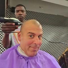 Harare Haircut Experience (Wayan Vota) Tags: chiffy zimbabwe harare haircut africa
