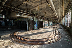 Track Curve (michaelbrnd) Tags: abandoned detroit urbex urban exploration fisher body plant factory