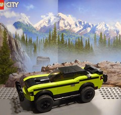 FF7 Letty's 2011 Dodge Challenger SRT (Iggy X) Tags: lego moc speed champions fast furious moviecar dodge challenger srt offroad