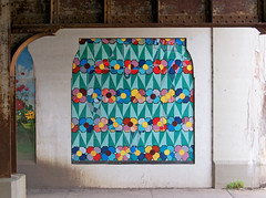 OH Dayton - Mural 72 (scottamus) Tags: dayton ohio montgomerycounty mural painting art building wall graffiti