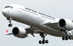 Airbus A350 JAL Japan Airlines JA01XJ (French_Painter) Tags: airbus a350 jal japan ja01xj fwzhf