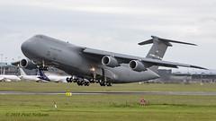 87-0028 C-5M USAF (Anhedral) Tags: 870028 lockheed c5 c5m supergalaxy usaf 60amw travisafb einn snn shannonairport takeoff military