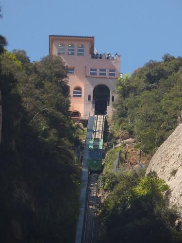 Funicular Railways at Montserrat - Funicular de Sant Joan