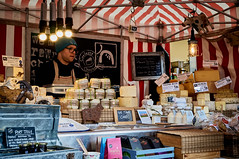 Temple Bar, Dublin (kendo1938) Tags: dublin ireland templebar market marketstalls cheesestall cheesemonger streetmarket streetscene